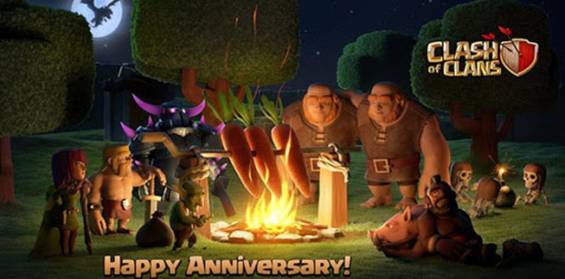 8th Clashanniversary of Clashs of Clans