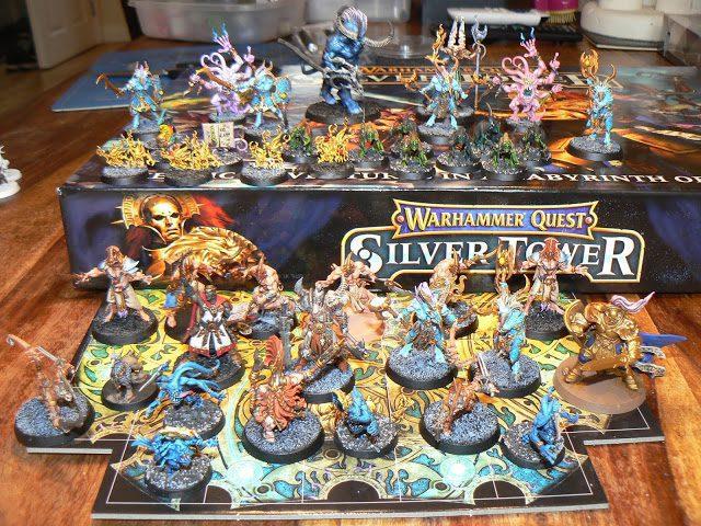 Avant d'être un jeu mobile, Warhammer est un jeu de plateau