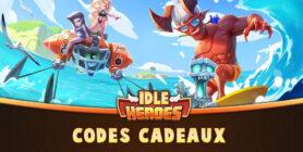 codes idle heroes