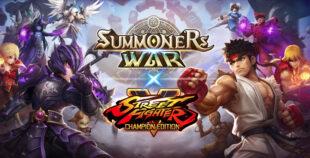 collaboration Summoners War x Street Fighter