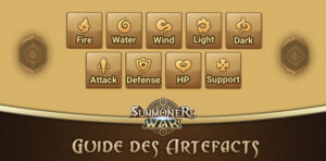 guide artefacts summoners war