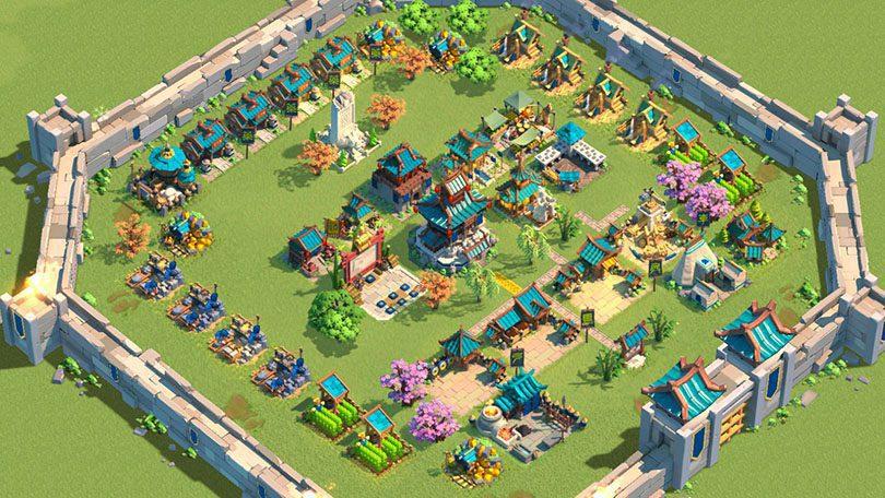 aperçu village rise of kingdoms