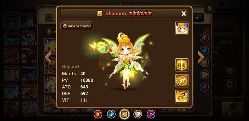 Shannon Summoners War