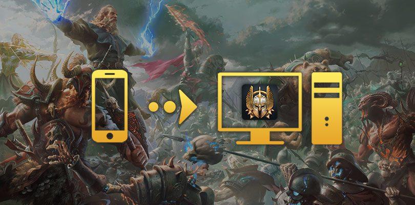 comment jouer à War and Magic PC