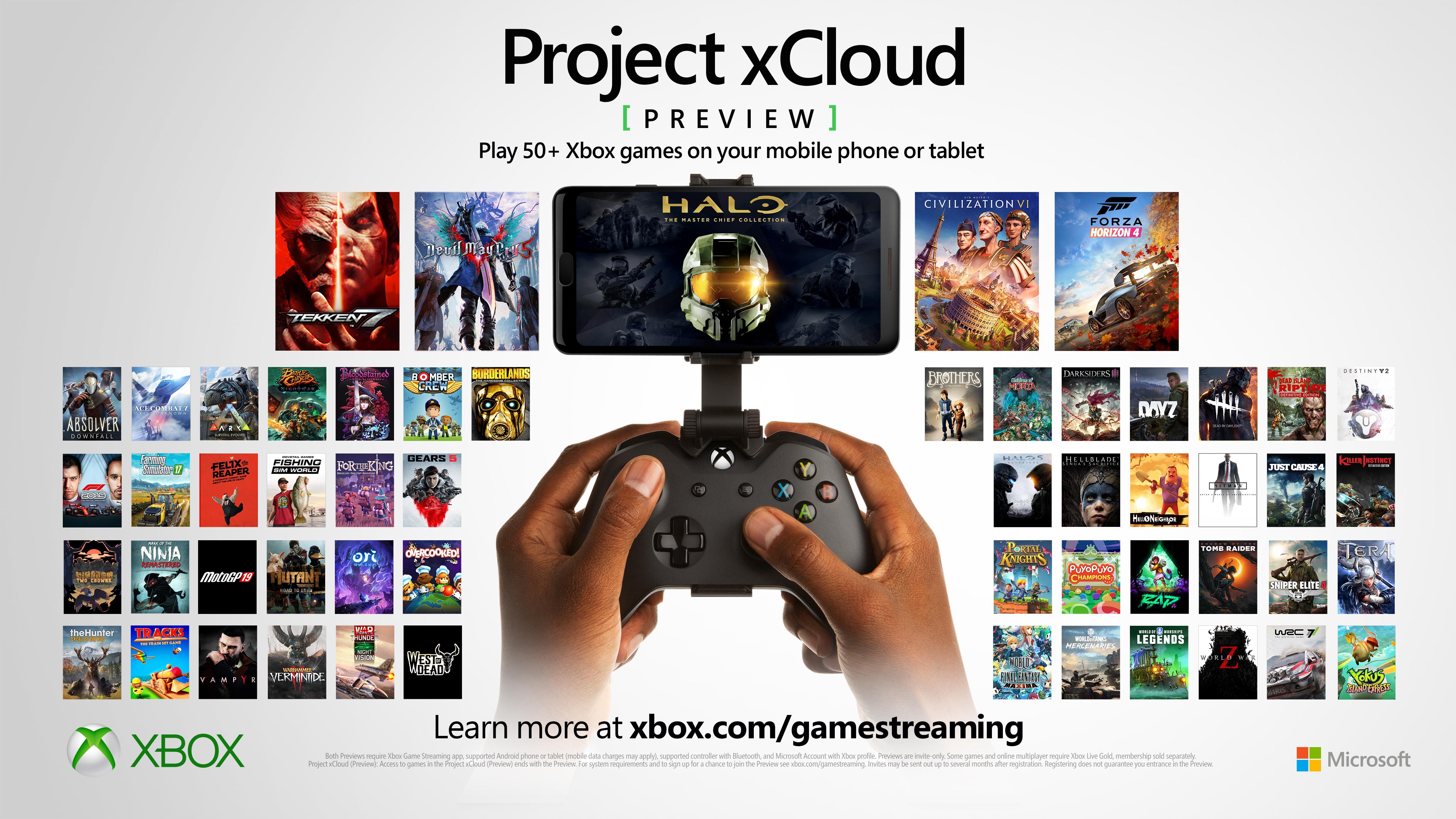Une manette Xbox pour jouer sur mobile.