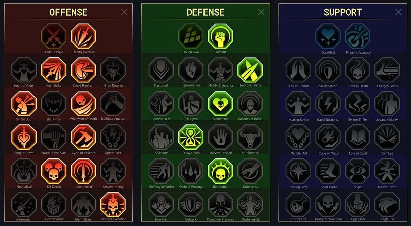 Les maîtrises à appliquer sur Errol dans ce guide RAID: Shadow Legends