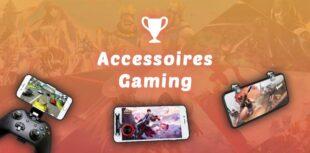 accessoires gaming pour téléphone