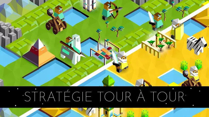 Battle of Polytopia meilleurs jeux mobile de stratégie
