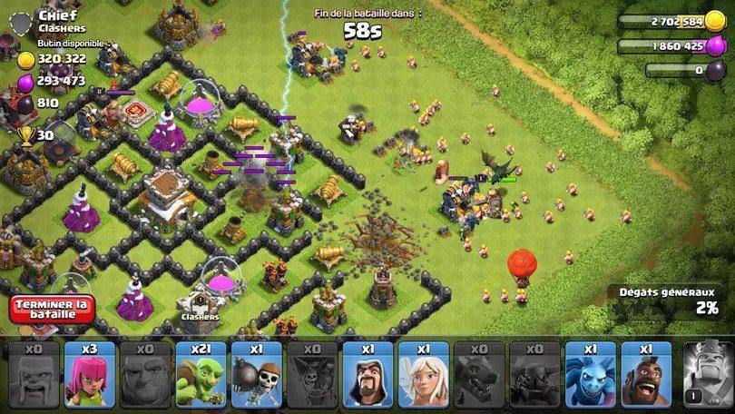 Clash of Clans image du jeu