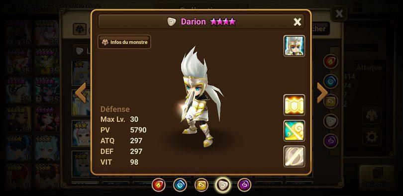 Darion Summoners War