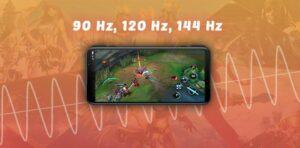 écrans téléphones 90hz 120hz 144hz