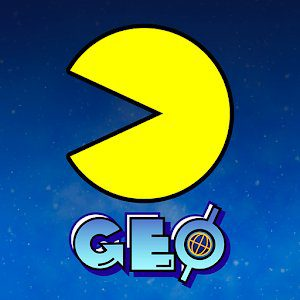 pac man geo icon
