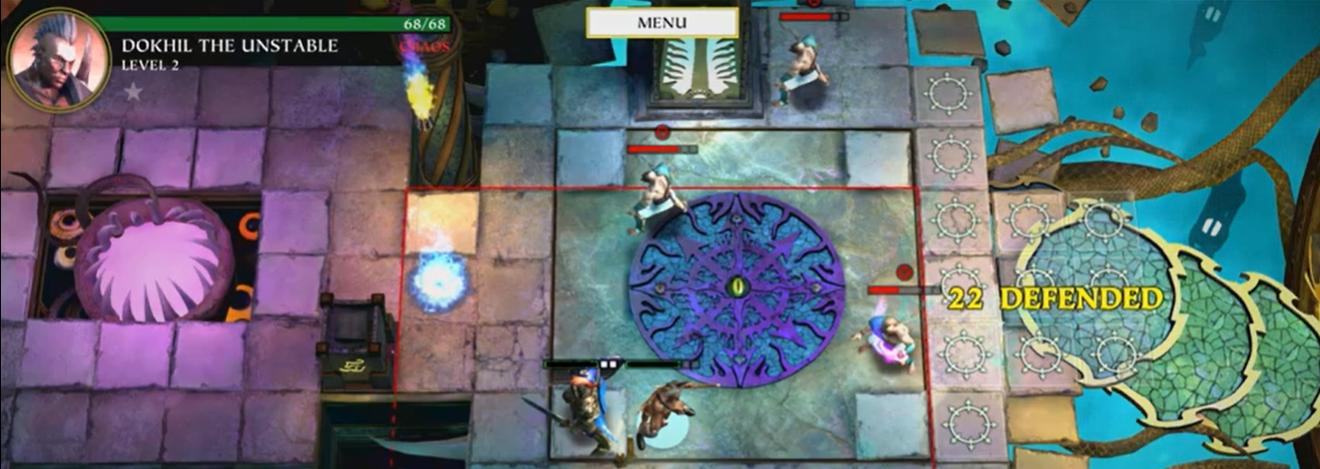 screenshot du jeu Warhammer Quest Silver Tower