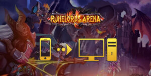 jouer à runelords arena pc