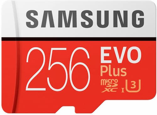 Samsung Evo+ 256 Go