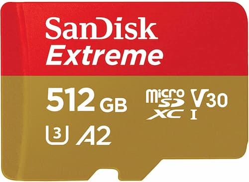 SanDisk Extreme 512 Gb