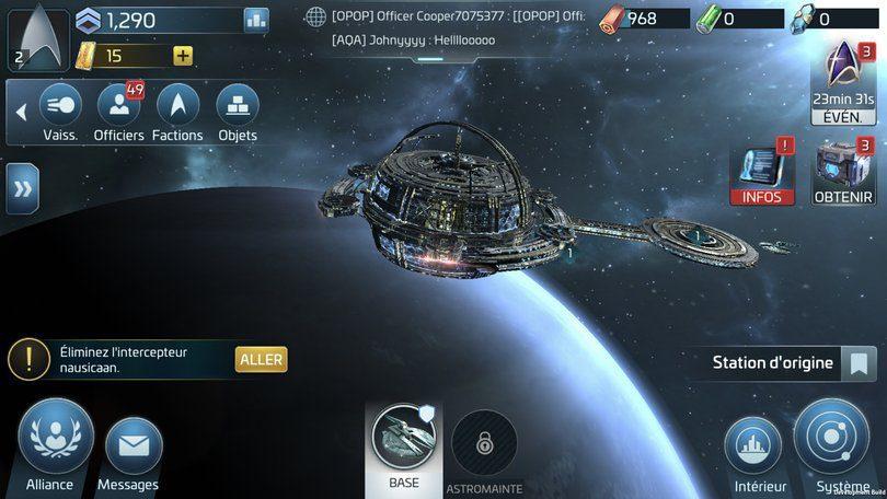 Star Trek Fleet Command image du jeu