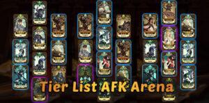 Tier list AFK Arena