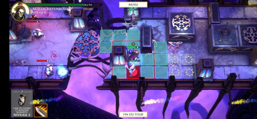 Combat dans Warhammer Quest: Silver Tower