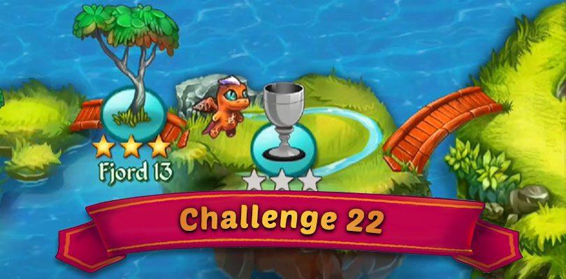 Guide Herausforderung 22  Merge Dragons  : Fjord 14