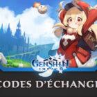 Tous les codes Genshin Impact de 2020