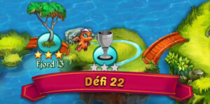 Guide défi 22 Merge Dragons : Fjord 14