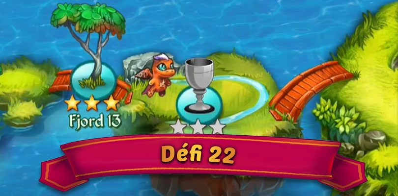 Guide défi 22 Merge Dragons : Fjord 14