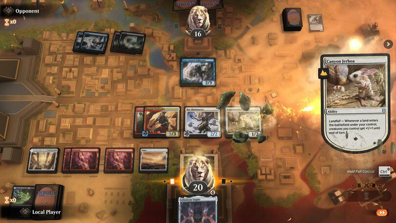 Magic The Gathering Arena : jeux comme Hearthstone