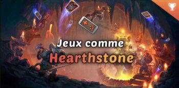 meilleurs jeux comme hearthstone