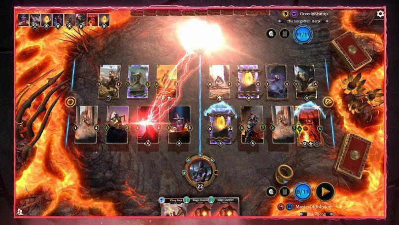 The Elder Scrolls Legends, jeux comme Hearthstone