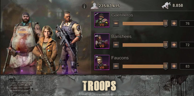 state of survival troops