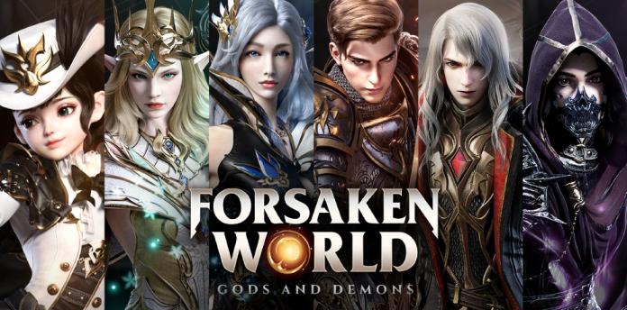 Forsaken World jeu mobile
