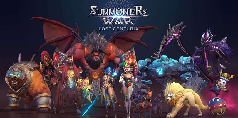 Summoners War Lost Centuria Bêta