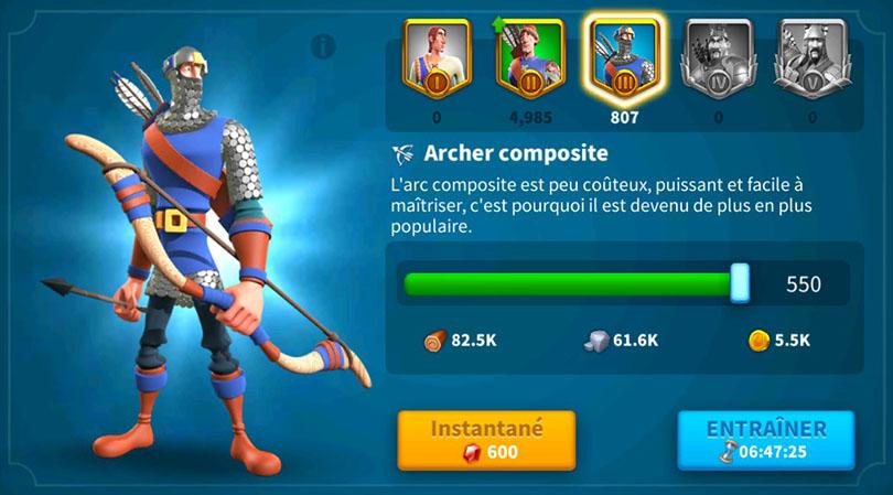 Archer niveau 3