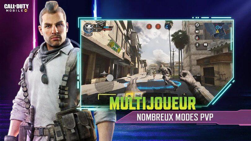 Call of Duty jeu mobile multijoueur
