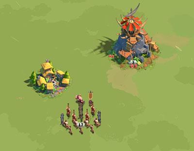 Fort barbare attaque