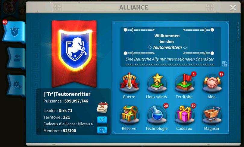 Infos alliance