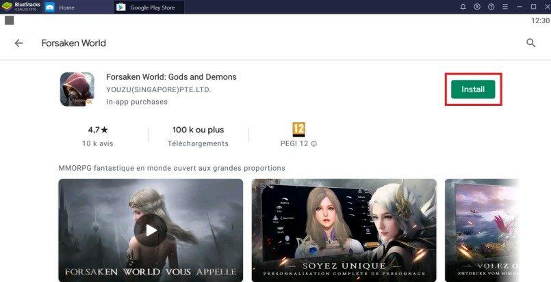 Installing Forsaken World on PC