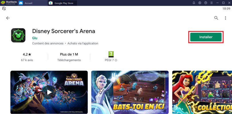 Installer Disney Sorcerer's Arena sur PC