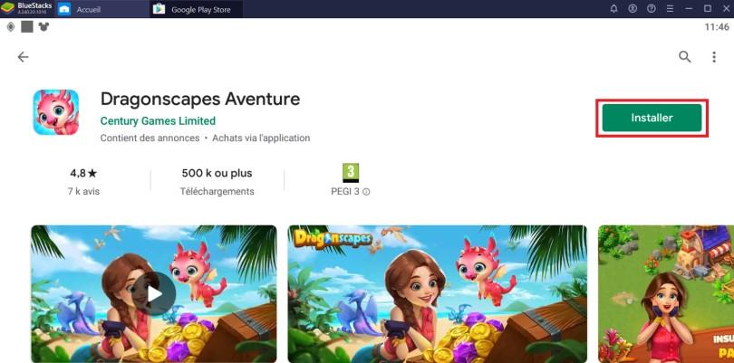 Installer Dragonscapes Aventure sur PC
