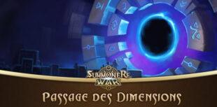 passage des dimensions dans Summoners War