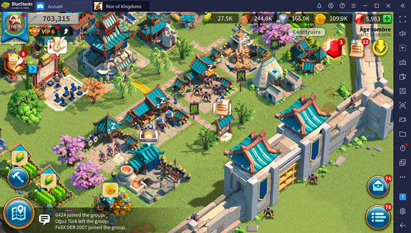BlueStacks Rise of Kingdoms