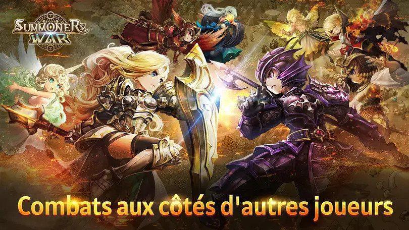 Summoners War jeu multijoueur