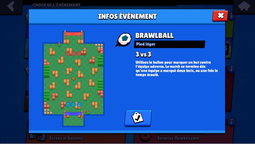 Événements Brawl Stars - Brawlball