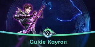Guide Kayron Epic Seven