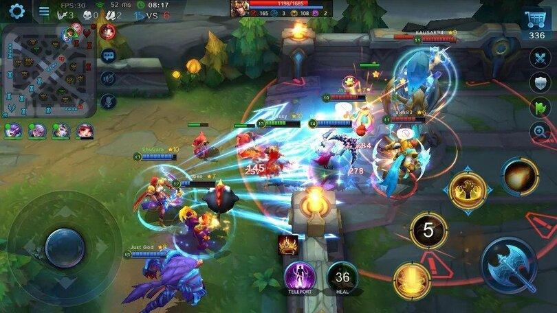 MOBA Mobile Heroes Evolved screenshot