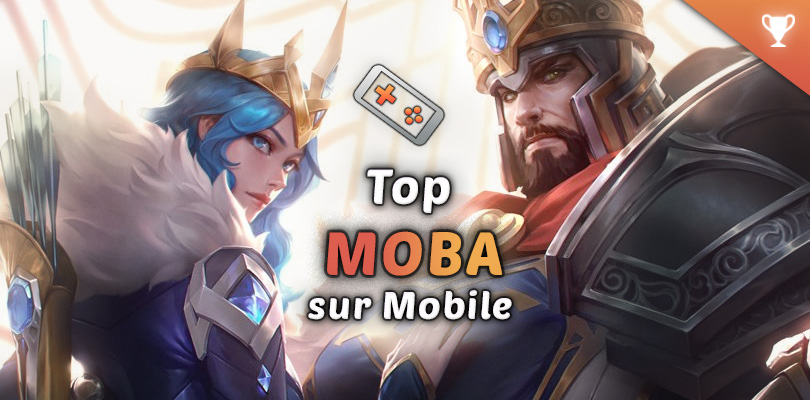 meilleurs MOBA mobile Android et iOS