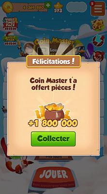 Coins bonus quotidiens CM