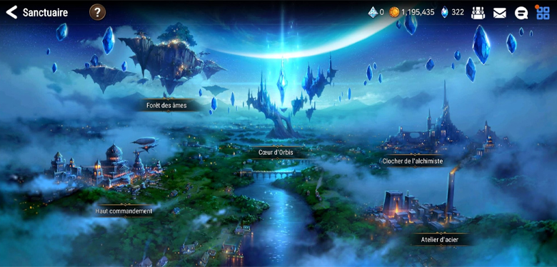 Sanctuaire Epic Seven