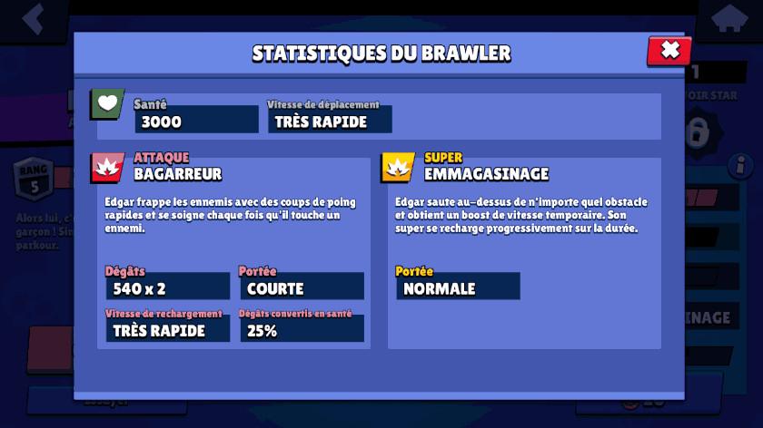 Guide Brawl Stars Edgar - Attaques